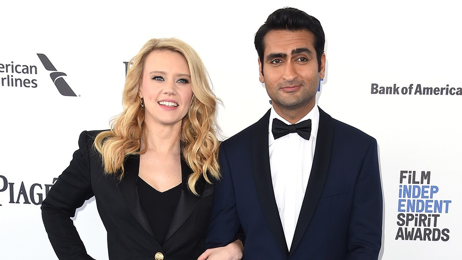 Kumail Nanjiani and Kate McKinnon - H 2016