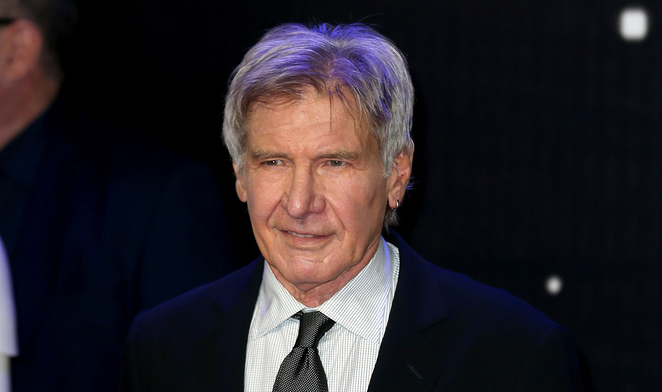 Harrison Ford Star Wars Premiere H 2015