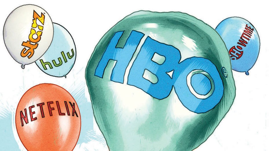HBO's High-Class Problems Illo - P 2016