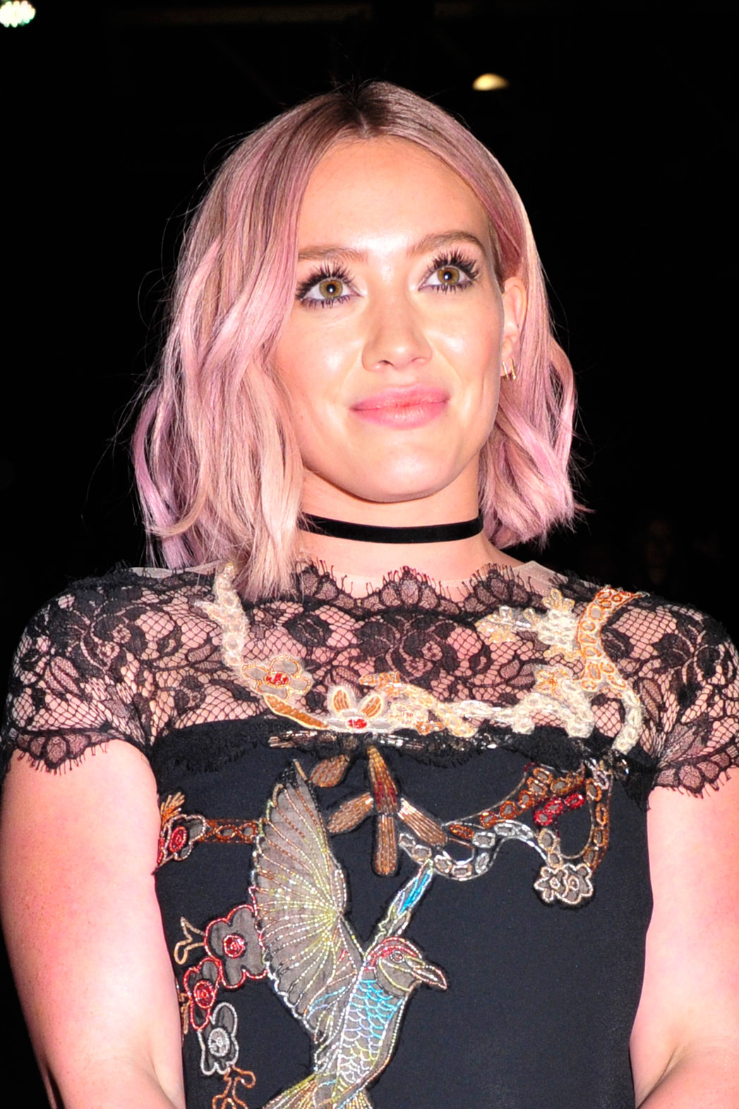 Hilary Duff at Monique Lhuillier - P 2016