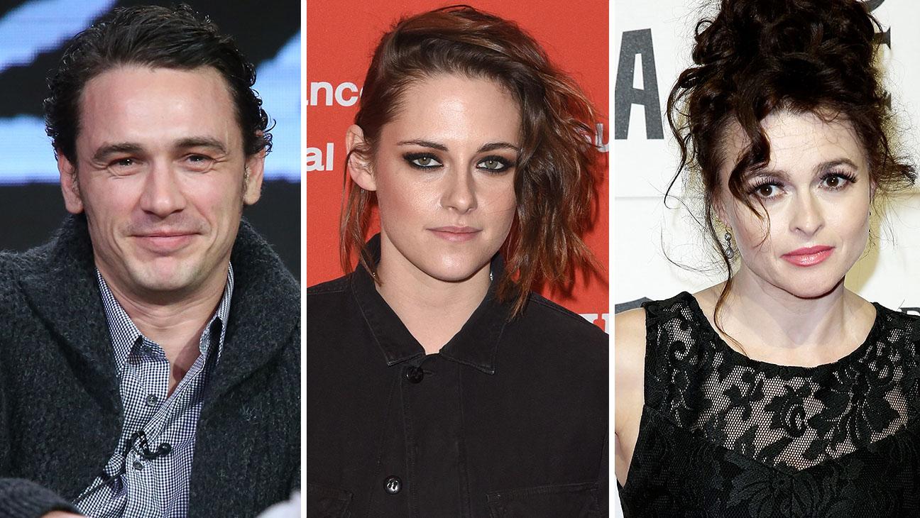 James Franco, Kristen Stewart, Helena Bonham Carter Split- H 2016