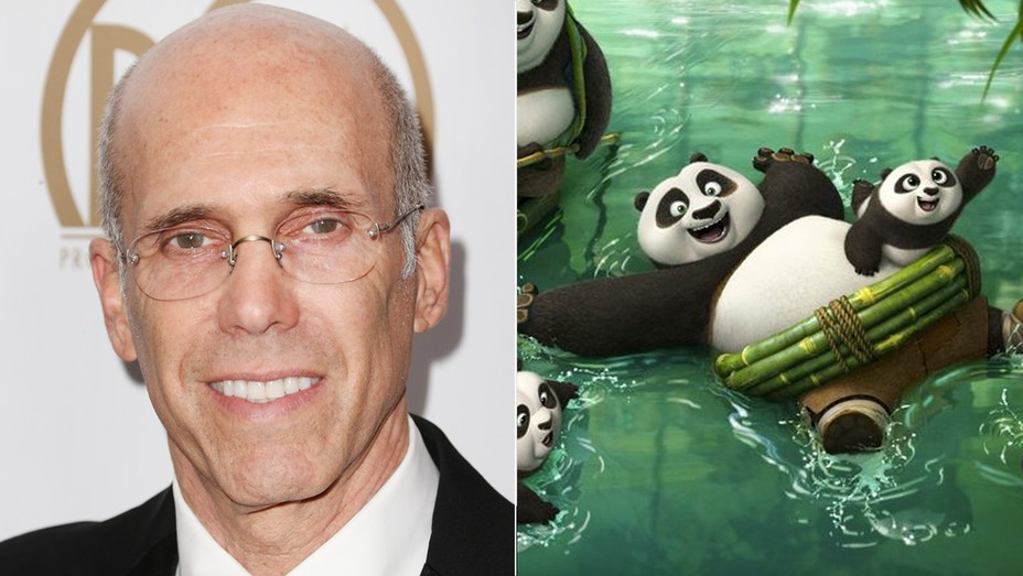 Jeffrey Katzenberg and kung fu panda 3  - H 2016