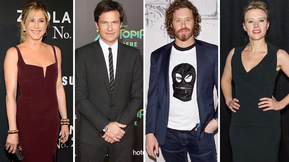 Jennifer Aniston, Jason Bateman, TJ Miller and Kate McKinnon split-Getty-H 2016