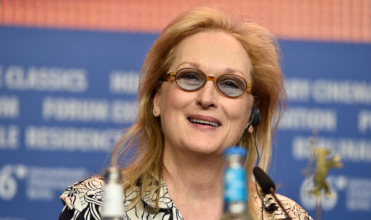 Meryl Streep Berlin H 2016