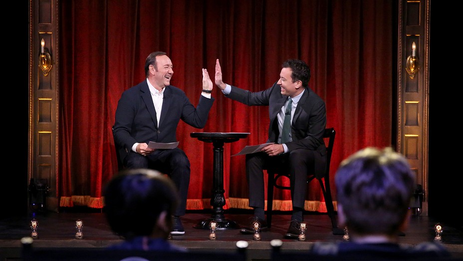 Kevin Spacey and Jimmy Fallon Masterclass Jr - H 2016