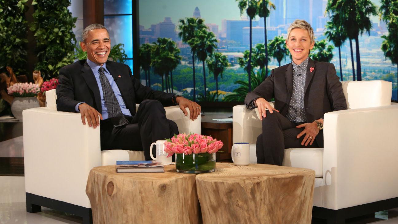 Obama on Ellen - H 2016