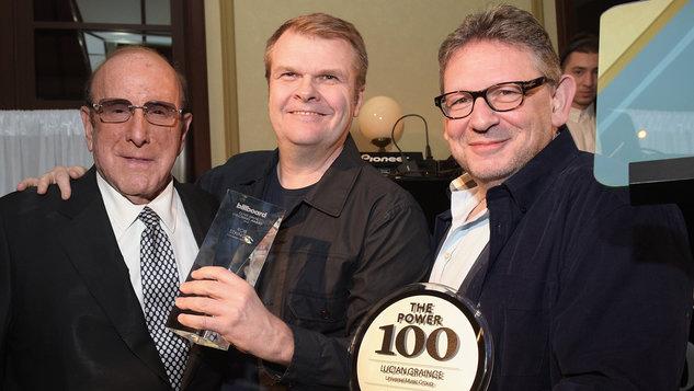 Billboard Power 100 Clive Davis, Lucian Grainge, Rob Stringer - H