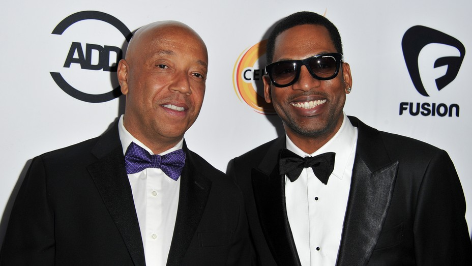 Russell Simmons Tony Rock - Getty - H