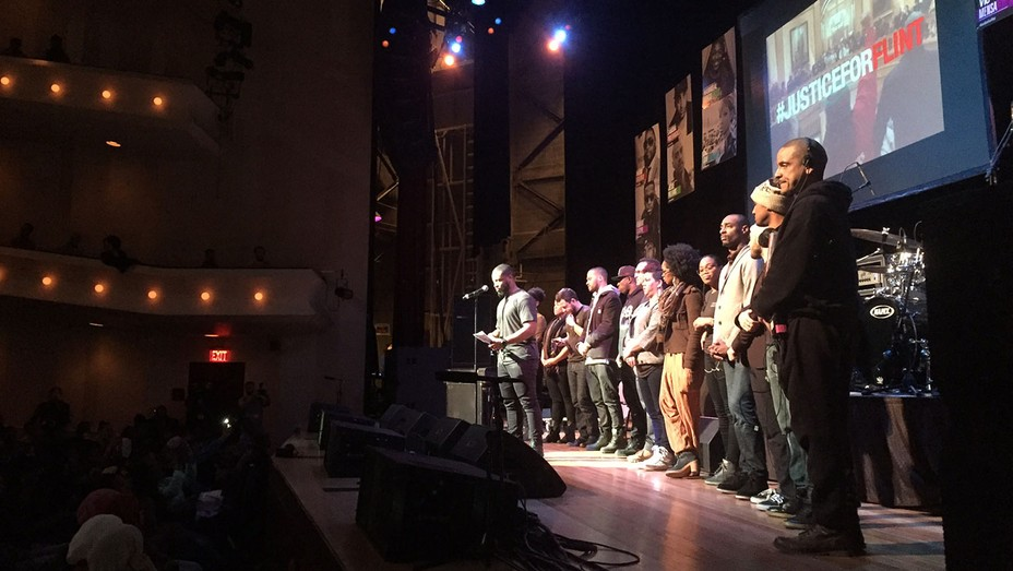 Ryan Coogler at Flint event - H 2016
