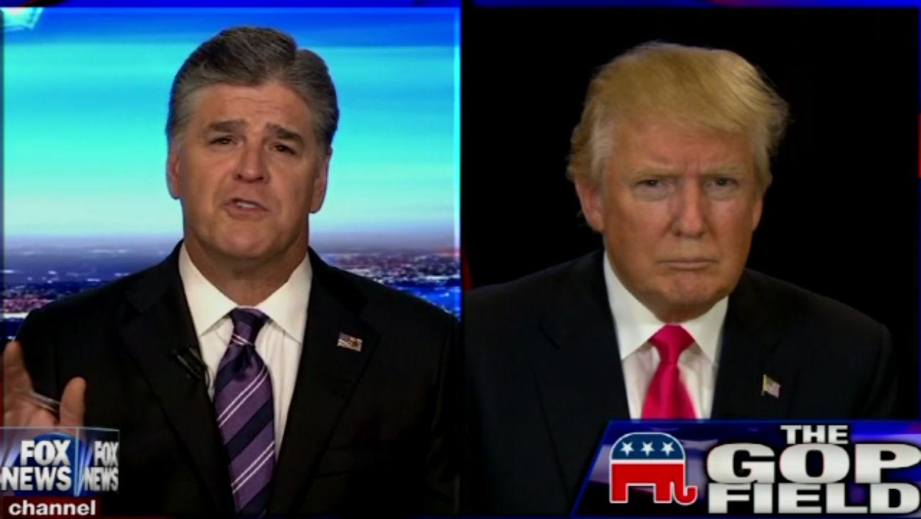 Trump Hannity - H