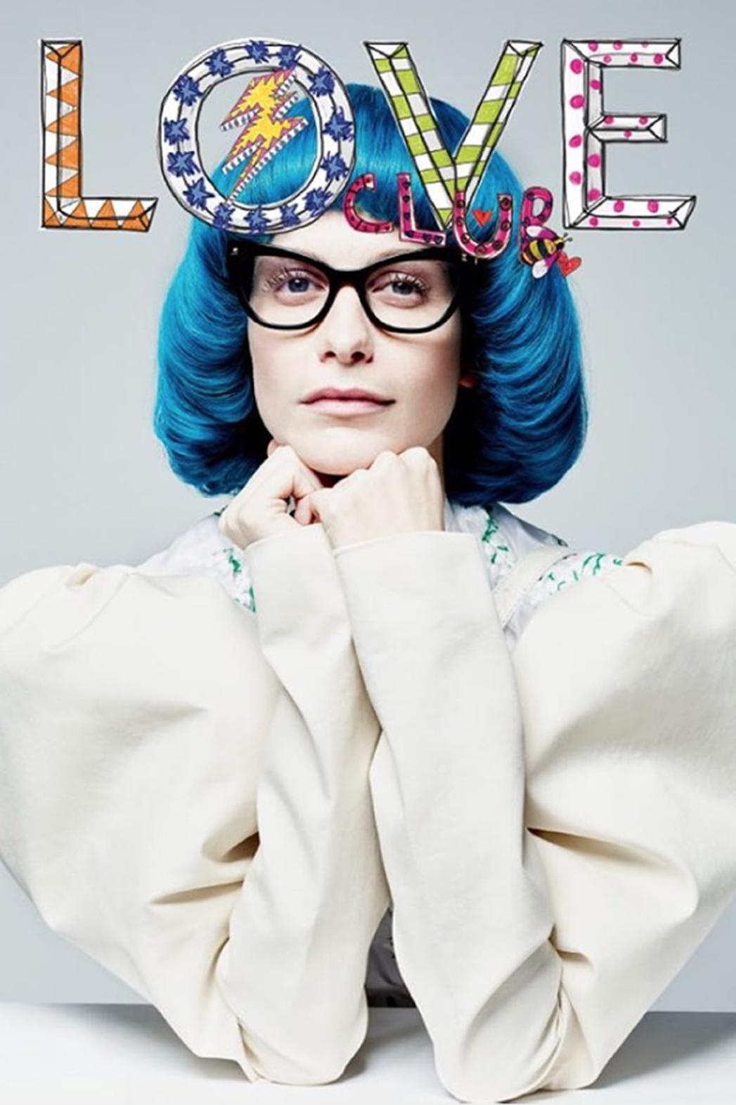 poppy delevingne LOVE magazine  - P 2016