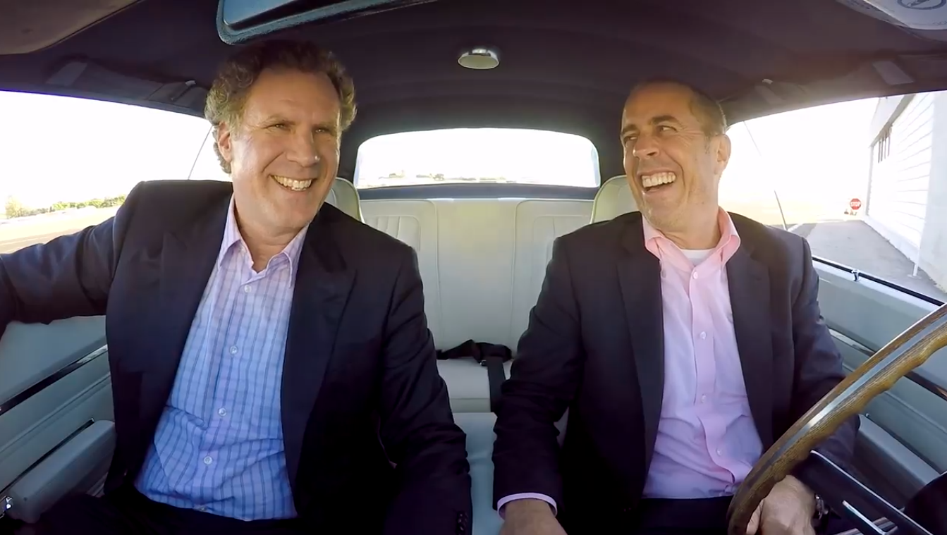 Will Ferrell-Jerry Seinfeld - Comedians in Cars _ H 2016