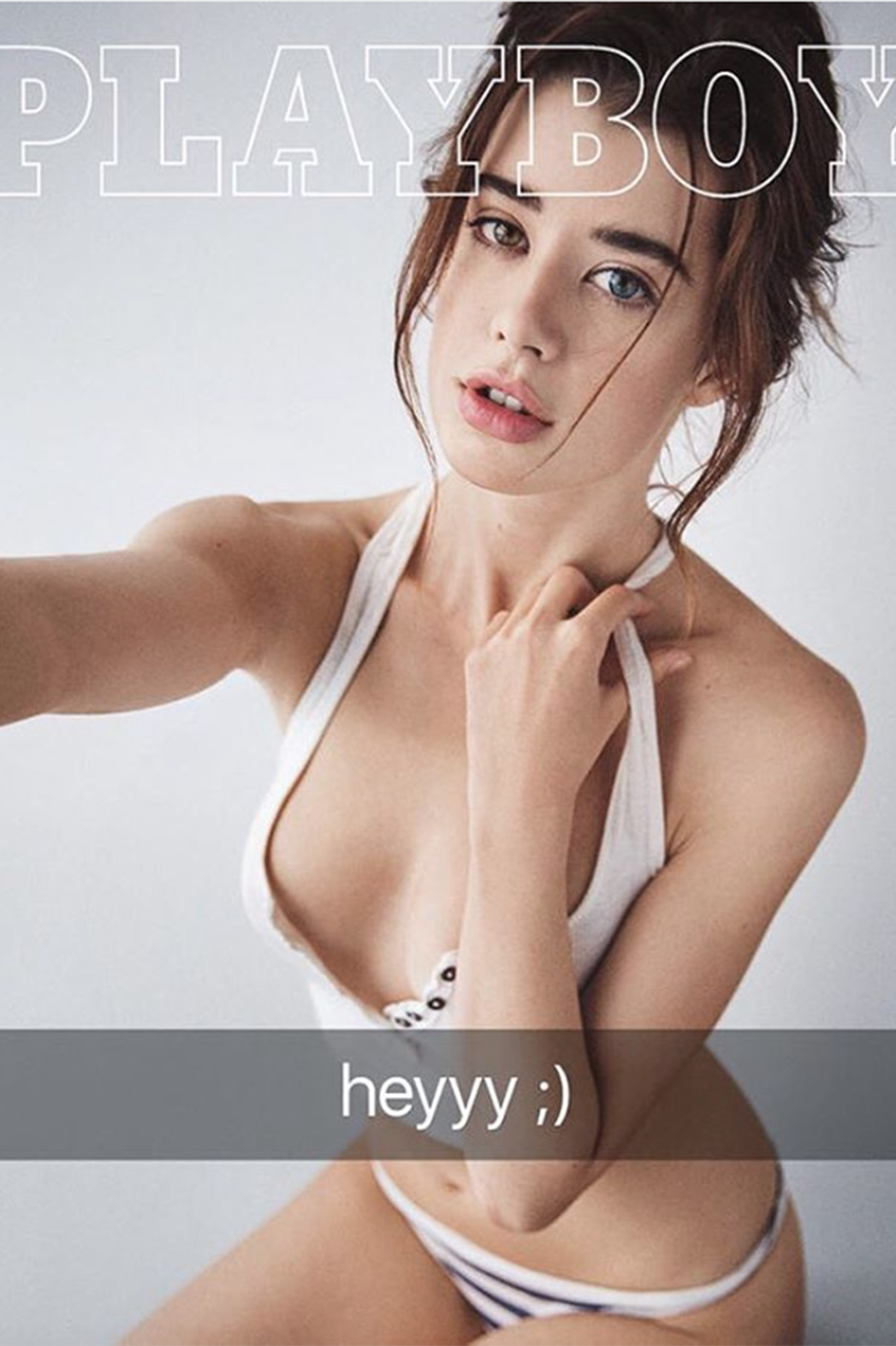 Playboys Non-Nude Issue Starring Sarah McDaniel, Dree