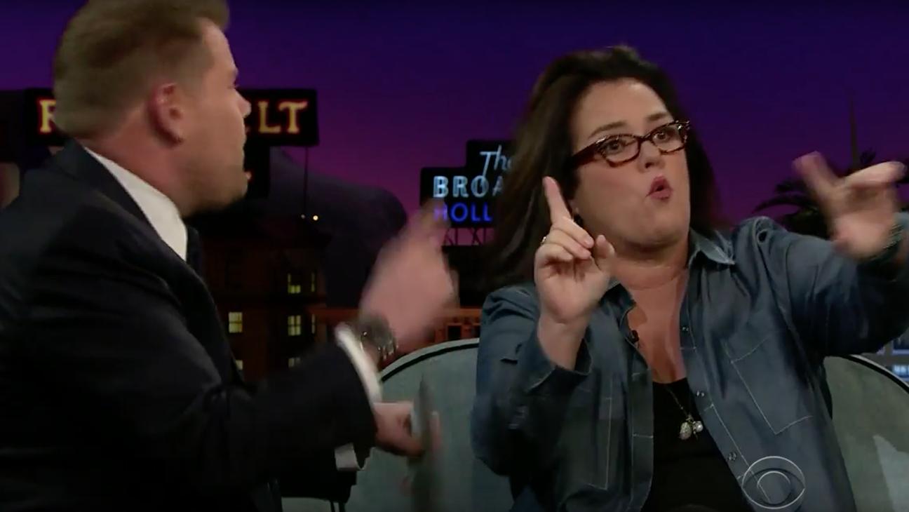 "Rosie O'Donnell & James Corden Rap ""Hamilton""  - H 2016"