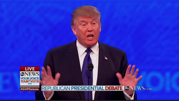 Trump ABC Debate
