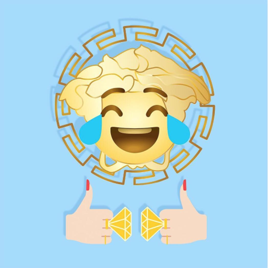 Versace emojis - S 2016