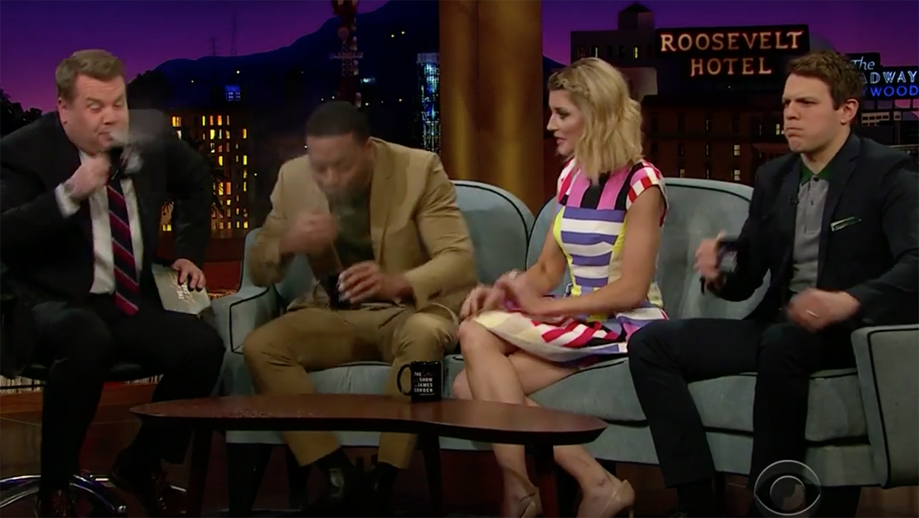 Spit-Takes w/ Jake Lacy, Chiwetel Ejiofor & Grace Helbig - H 2016