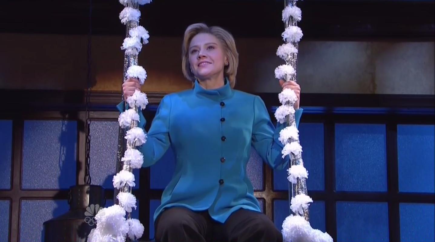 Hillary Clinton SNL Screengrab H - 2016
