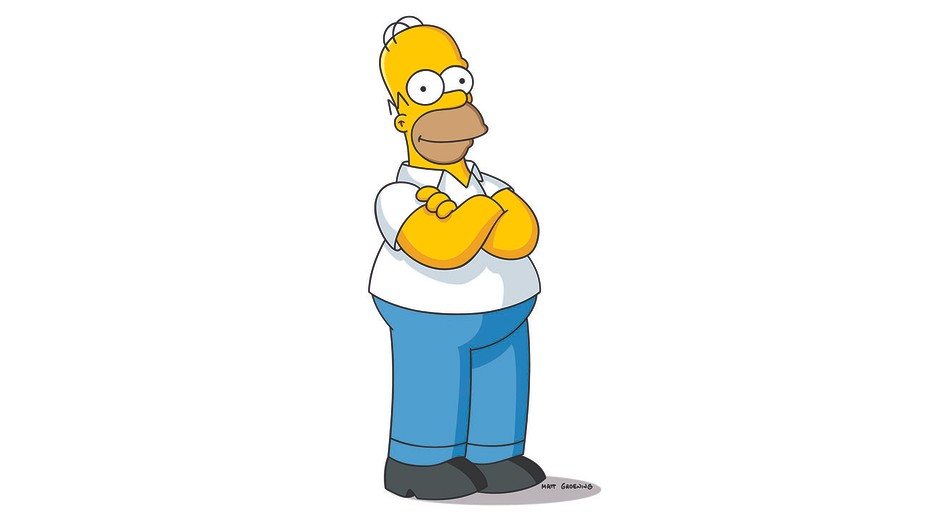THE SIMPSONS: Homer Simpson - H 2016