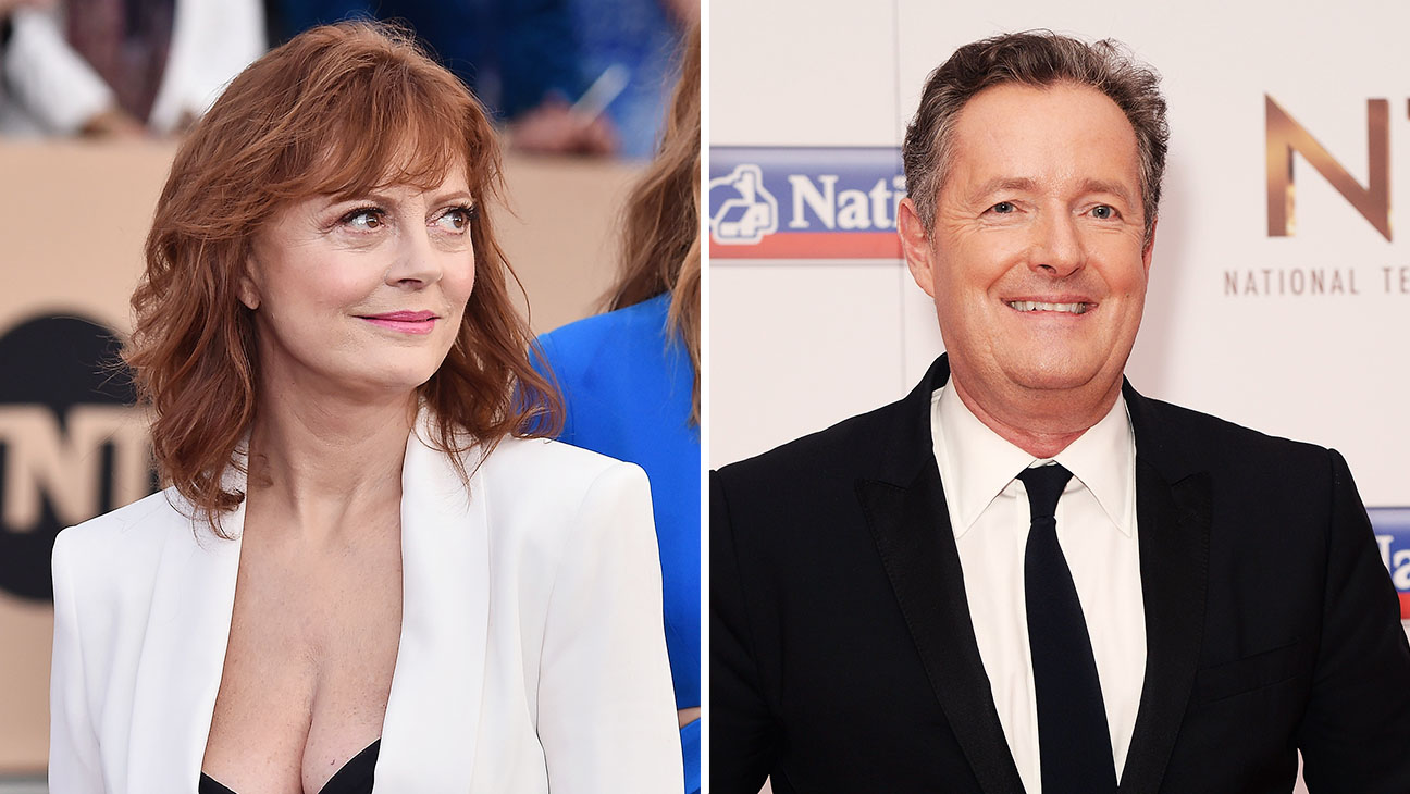 Susan Sarandon and Piers Morgan_Split - H 2016