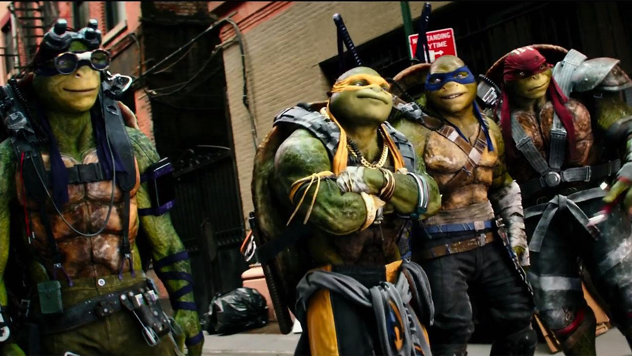 Teenage Mutant Ninja Turtles 2 - Big Game Spot Screen shot - H 2016