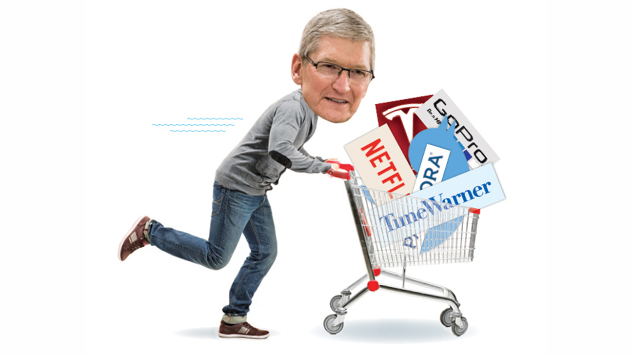 Is Apple Planning a Buying Spree - H 2016