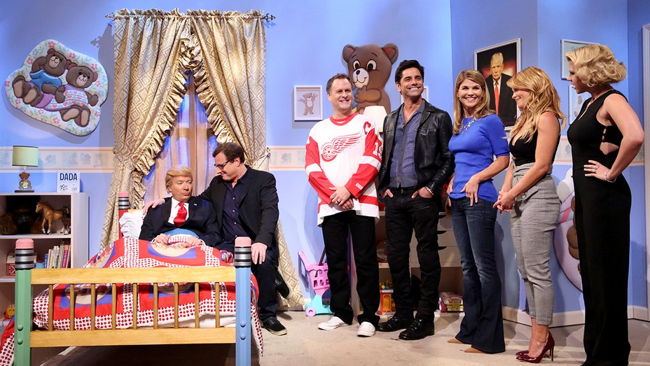 Tonight Show Fuller House Trump H 2016
