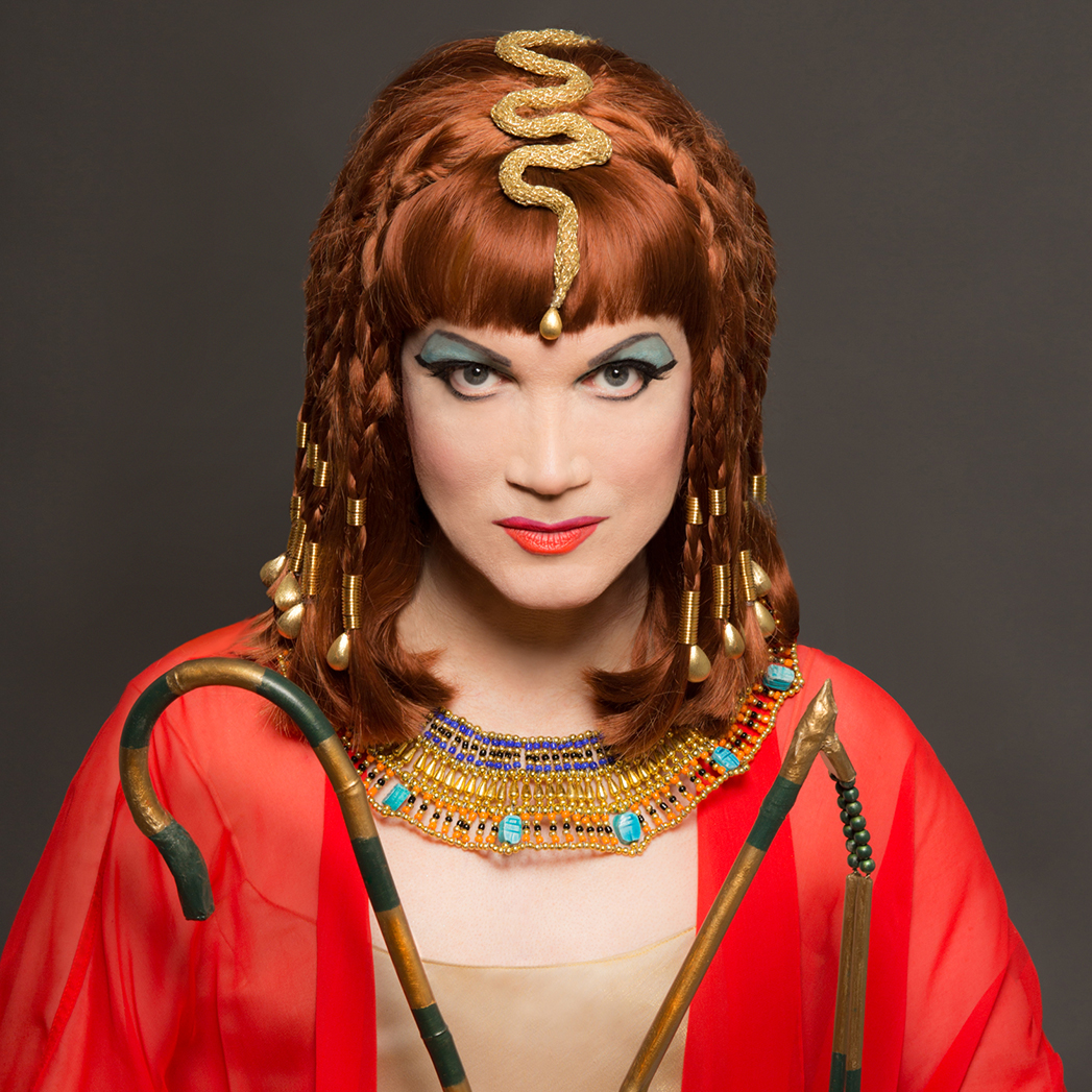 Charles Busch as Cleopatra - S 2016
