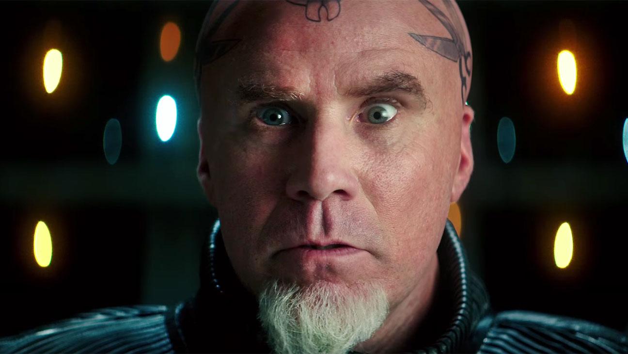 Zoolander trailer -Screen shot of Will Ferrell as Mugatu- H 2016