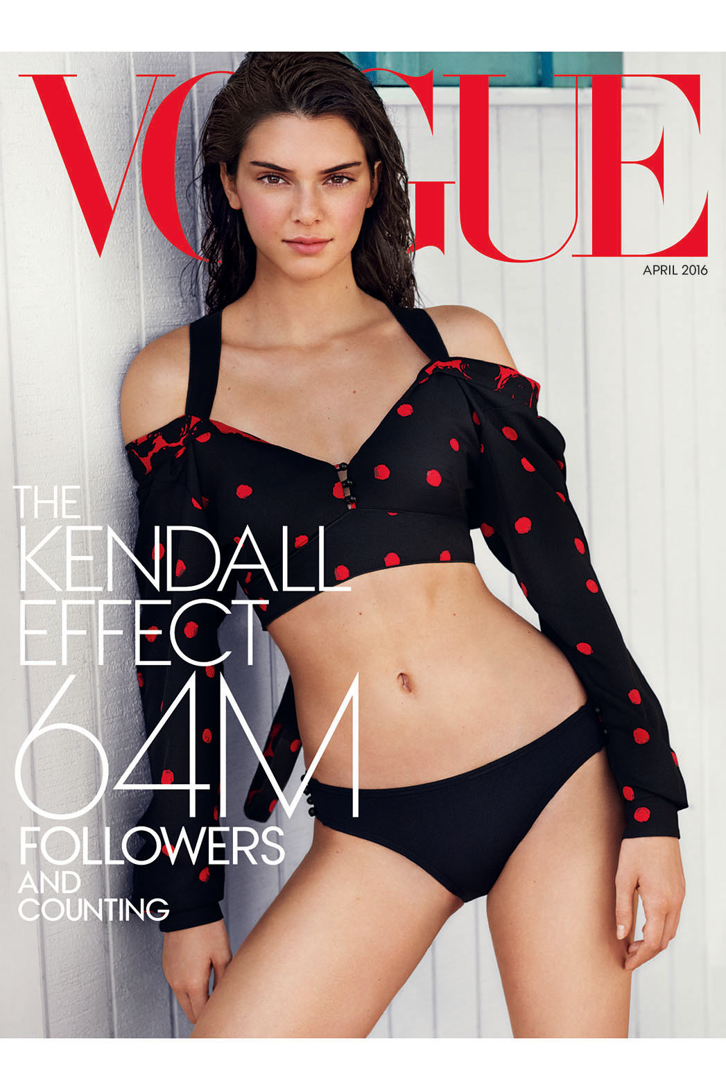 Kendall Jenner Vogue cover- P 2016