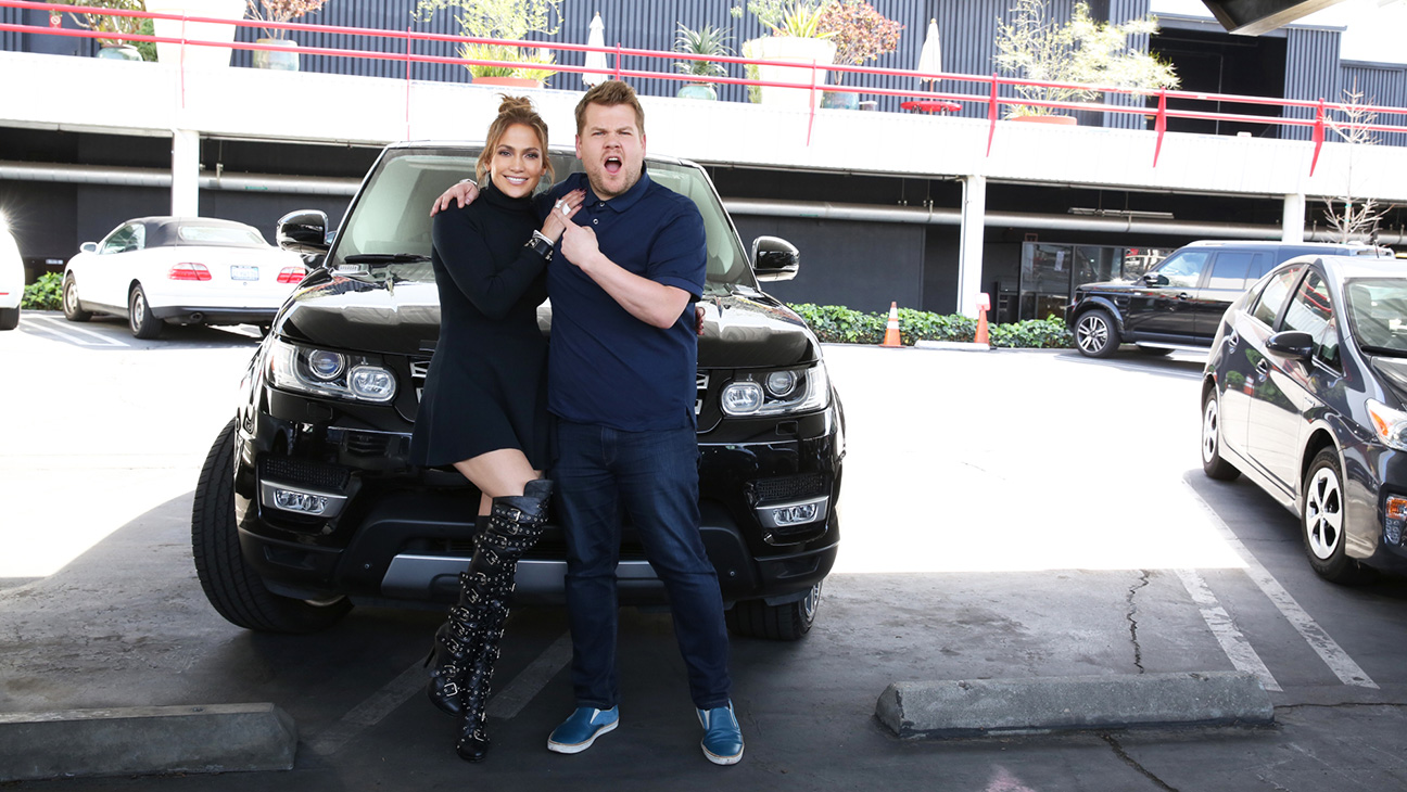 Jennifer Lopez joins James Corden for Carpool Karaoke 1 - H 2016