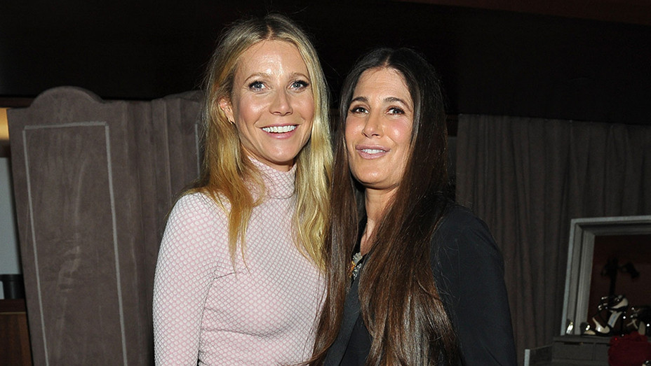 Paltrow with stylist at THR dinner - H 2016