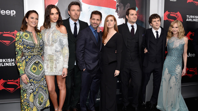 'Batman v. Superman' Cast at New York Premiere - Getty - H 2016