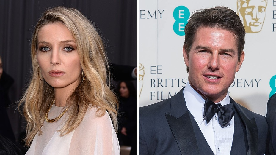 Annabelle Wallis and Tom Cruise - H 2016