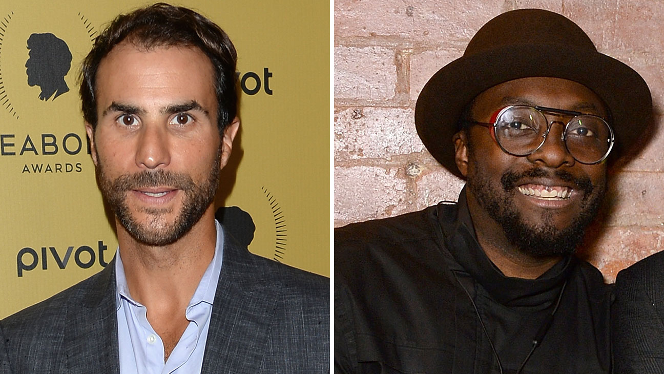 Ben Silverman and Will.i.am GETTY - H 2016