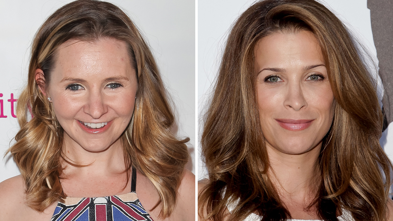 Beverley Mitchell and Christina Cox - H 2016