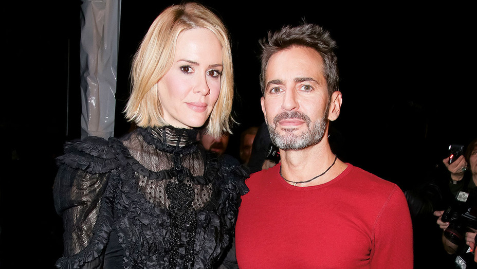 THR Style- Sarah Paulson and Marc Jacobs - ONE-TIME USE ONLY- H 2016