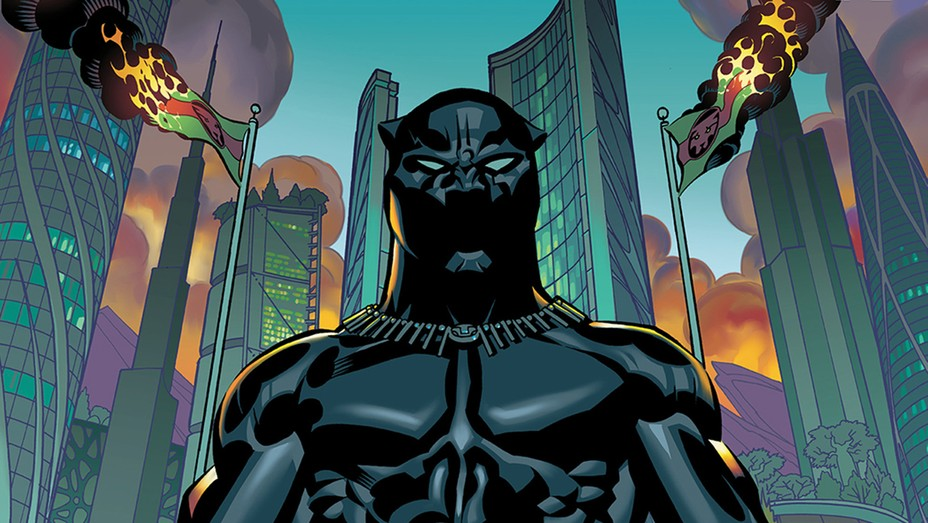 Black Panther Cover - H 2016