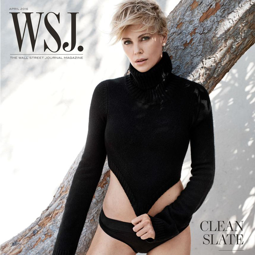 charlize theron WSJ cover - S 2016