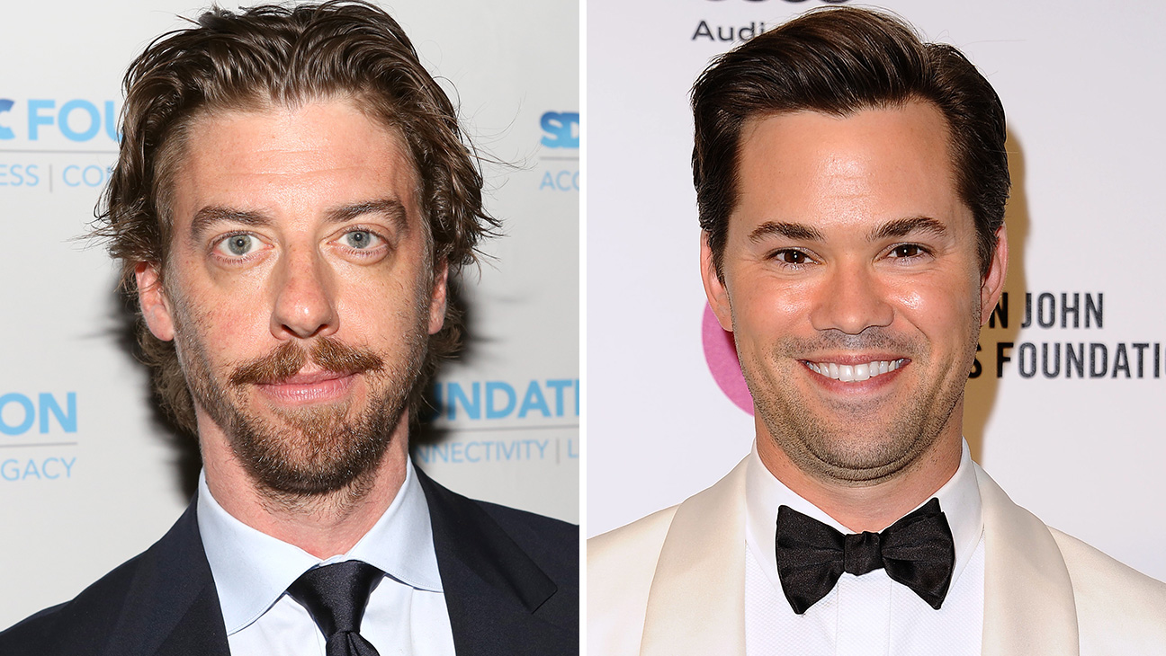 Christian Borle and Andrew Rannells split - H 2016