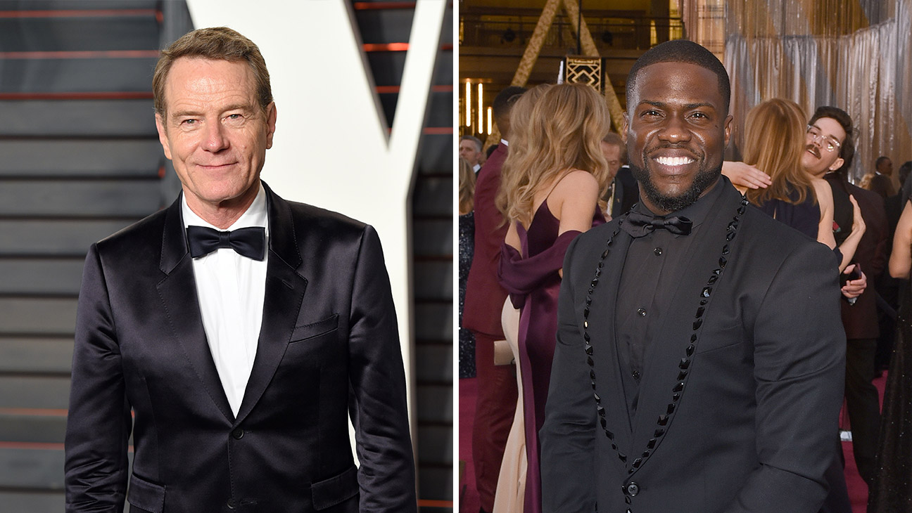 Bryan Cranston Kevin Hart Split - Getty - H 2016