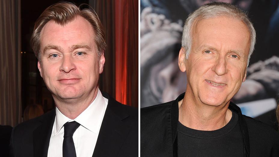 Christopher Nolan and James Cameron Split- H 2016