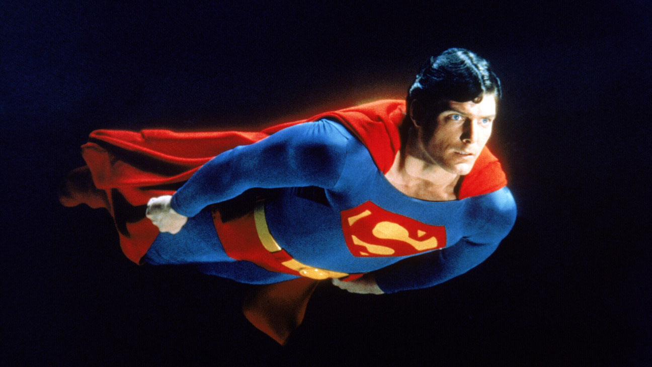 Christopher Reeve Superman 1978 Still - Photofest - H 2016