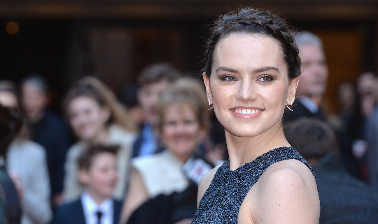 Daisy Ridley Empire Awards Getty H 2016