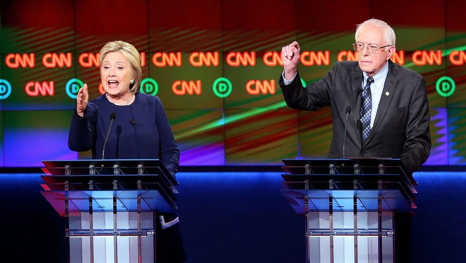 Clinton Sanders Debate March 6 - GETTY - H 2016