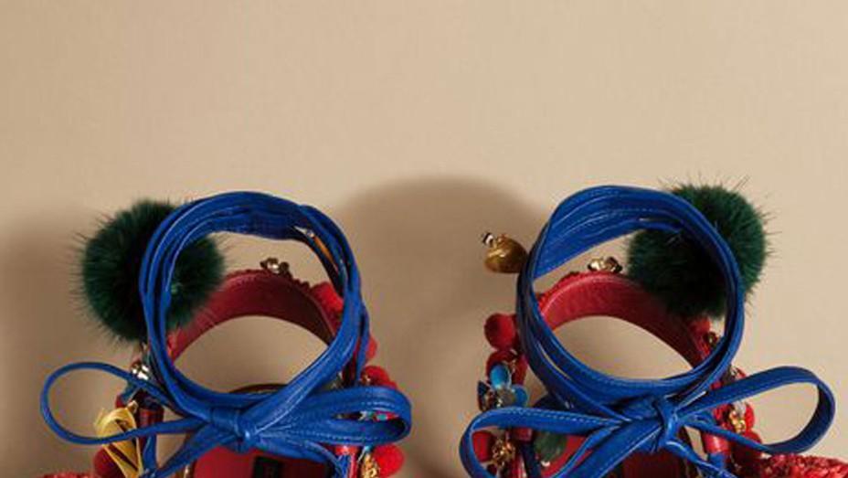 "Dolce & Gabbana ""Slave Sandal"" - P 2016"