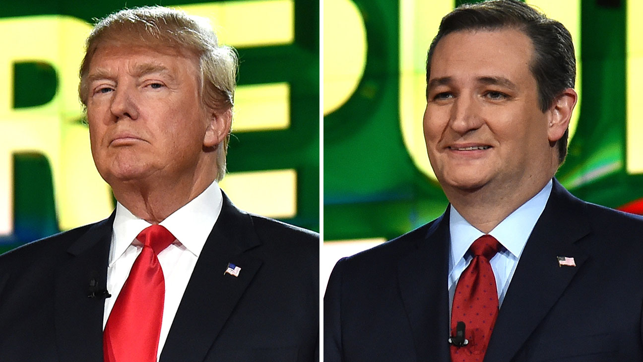 Donald Trump and Ted Cruz Split -Getty-H 2016