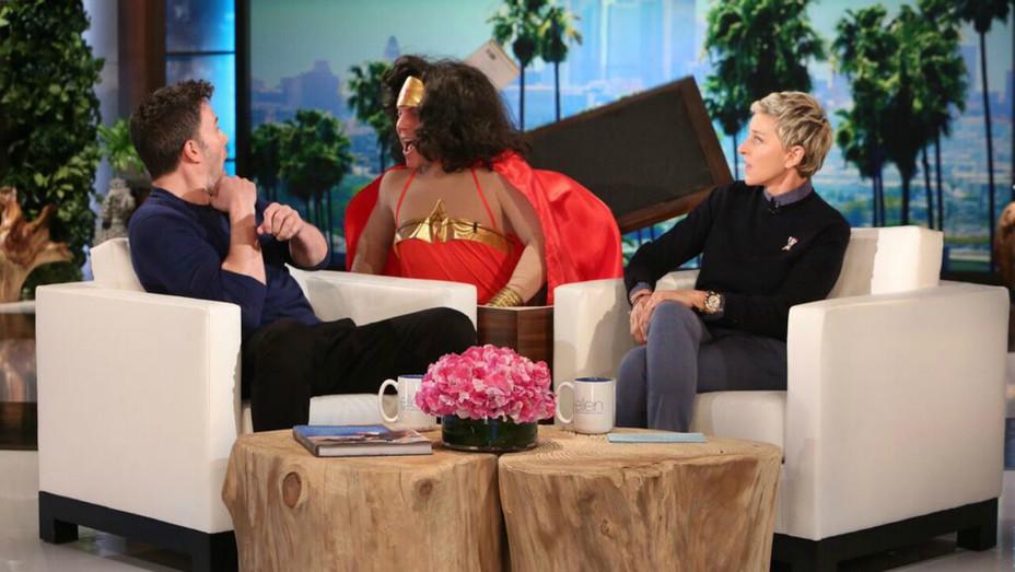 Ben Affleck Scared on 'Ellen' — H 2016