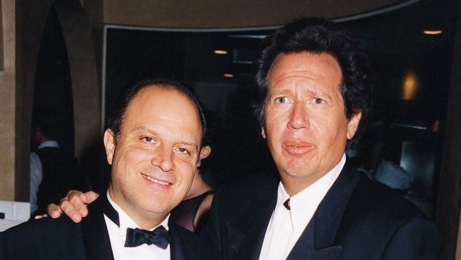 Chris Albrecht & Garry Shandling during 1997 Golden Globe Awards- Getty-H 2016
