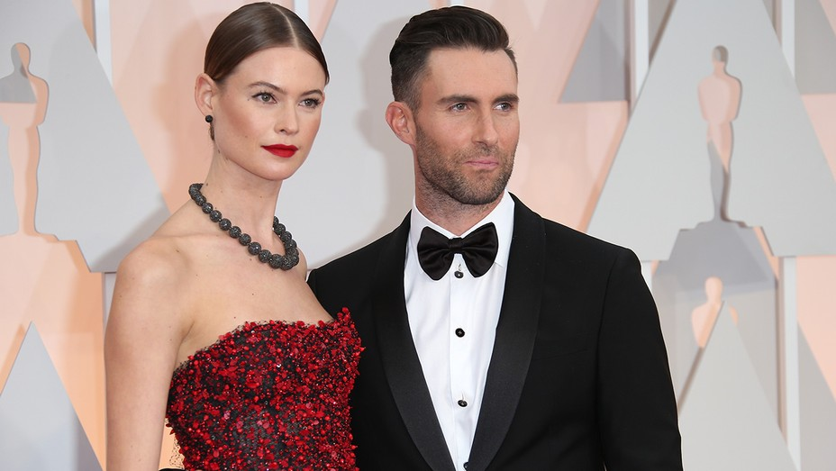 Behati Prinsloo, Adam Levine GETTY - H 2016